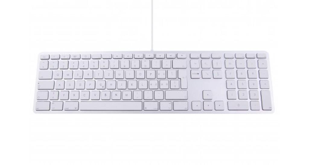 LMP kabelgebundene USB Tastatur mit Zahlenblock Spanien