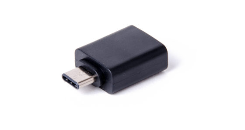 LMP USB-C (m) zu USB A (w) Adapter, schwarz