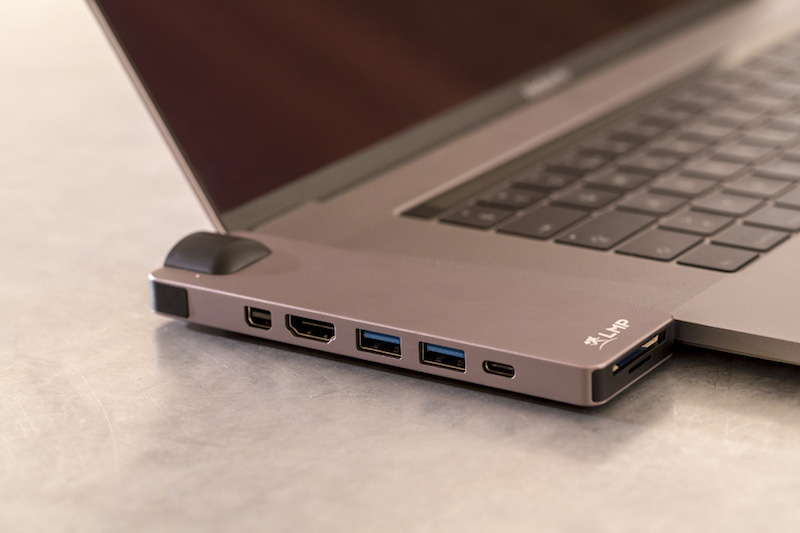 LMP USB-C Compact Dock 4K, 8-Port space grau