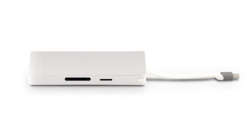 LMP USB-C Travel Dock 4K 9 Port, silber