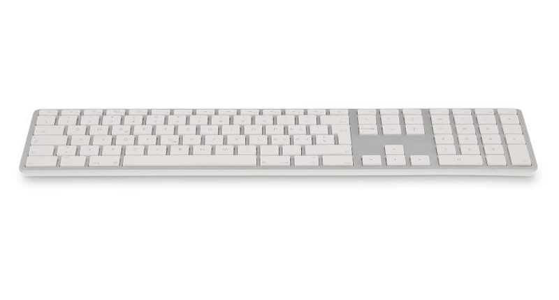 LMP Bluetooth Tastatur, silber, UK