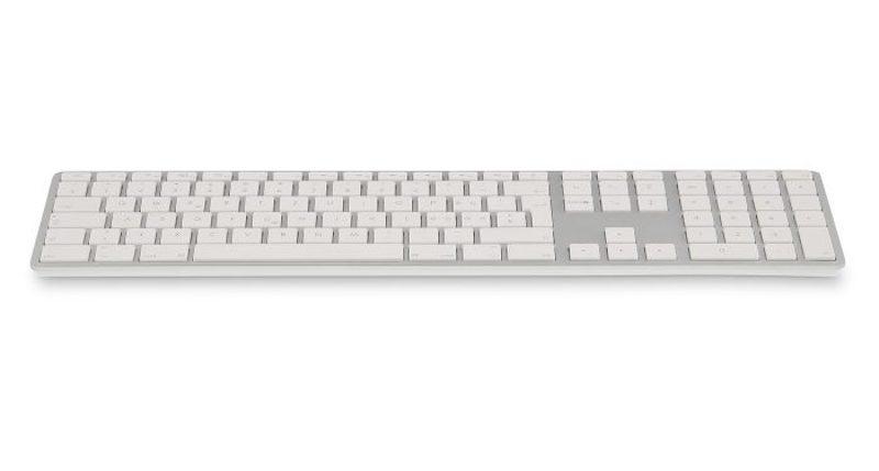 LMP Bluetooth Tastatur, silber, DE